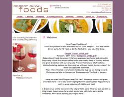 Robert Duval Foods
